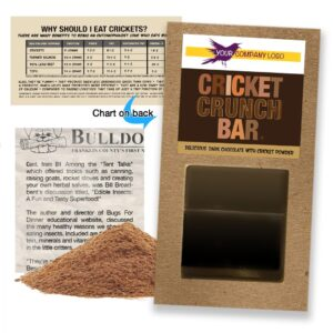 Cricket Powder Bar Dark Chocolate