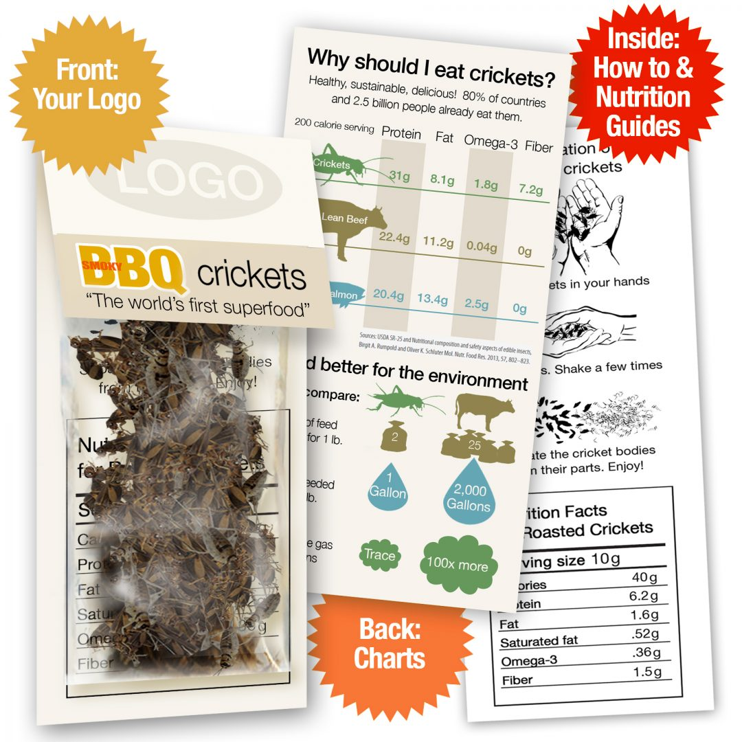 BBQ Crickets Sample Pack