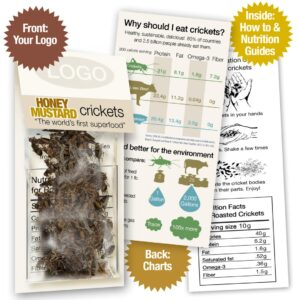 Honey Mustard Honey Mustard Crickets Sample Pack