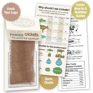 Cricket Powder Sample