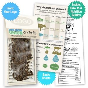 Sour Cream & Onion Crickets Sample Pack