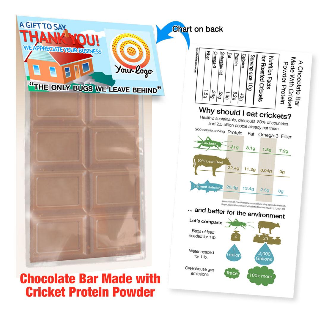 Cricket Crunch Bar | Cricket Powder | Milk Chocolate | Promo Size